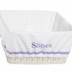 Pottery barn harper basket liners extra large